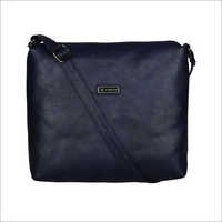 Ladies Navy Blue Sling Bag