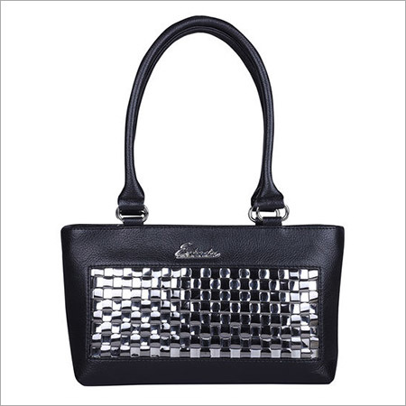 Small Chatai Black Handbag