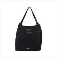 Ladies Black Tote Bags