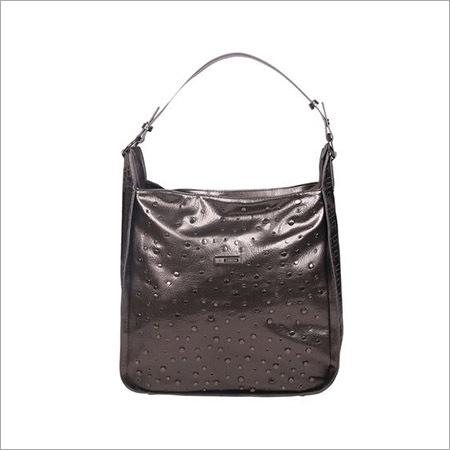 Ladies Pewter Tote Bag