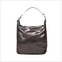 Ladies Pewter Tote Bag