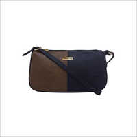Ladies Camel Black Handbags