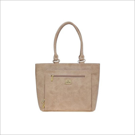 Ladies Tan Handbags