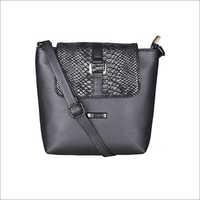 Animal Pattern Black Love Affair Sling Bag