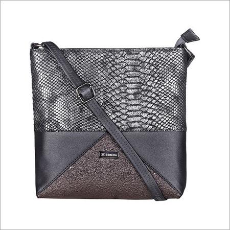Ladies Blackish Grey Sling Bags