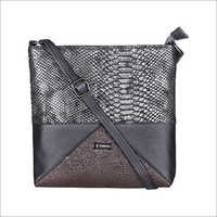 Ladies Blackish Grey Sling Bags