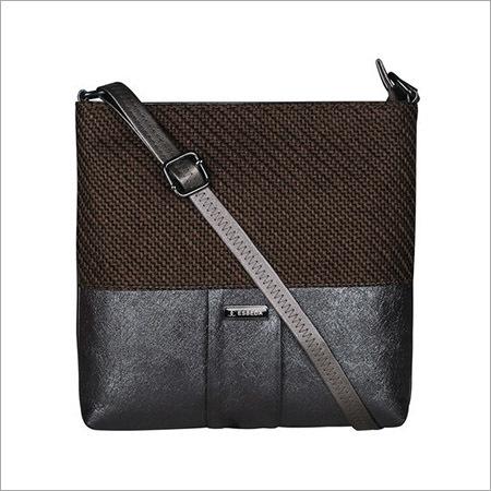 Ladies D Brown Sling Bag