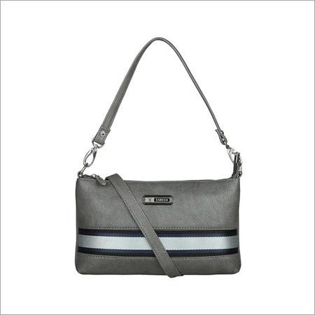 Ladies Grey Sling Bag