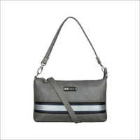 Ladies Grey Sling Bag