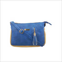 Ladies Blue Sling Bag