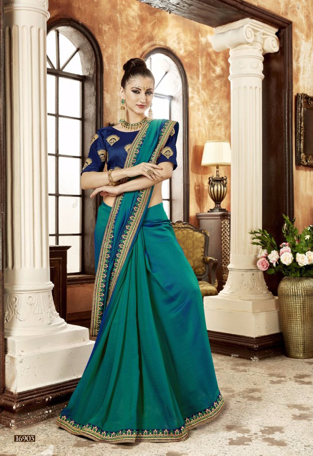 Exclusive Chiffon Lacework Saree