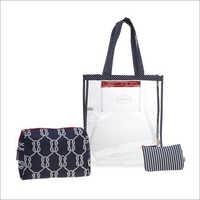 Ladies D Blue Travel Organiser Kit