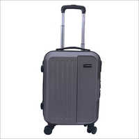 Solid Pattern Metal Cabin Luggage Bag
