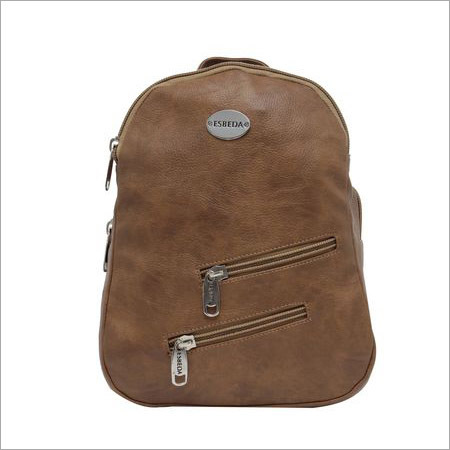 Ladies Camel Color Backpack