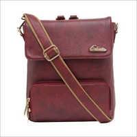 Ladies Maroon Backpack