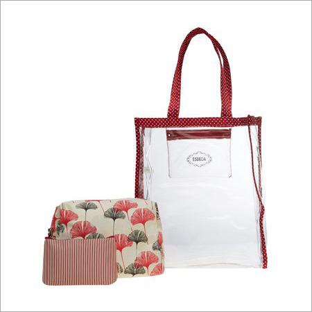Ladies Orange Travel Organiser Kit
