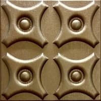 Silfra Leather Panel Metallic Copper