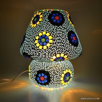 Colorful Mosaic Glass Lights Table Lamps for Home Lamp