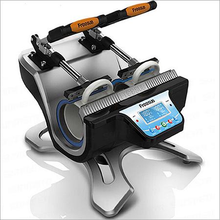 Double Pad Coffee Mug Printing Machine