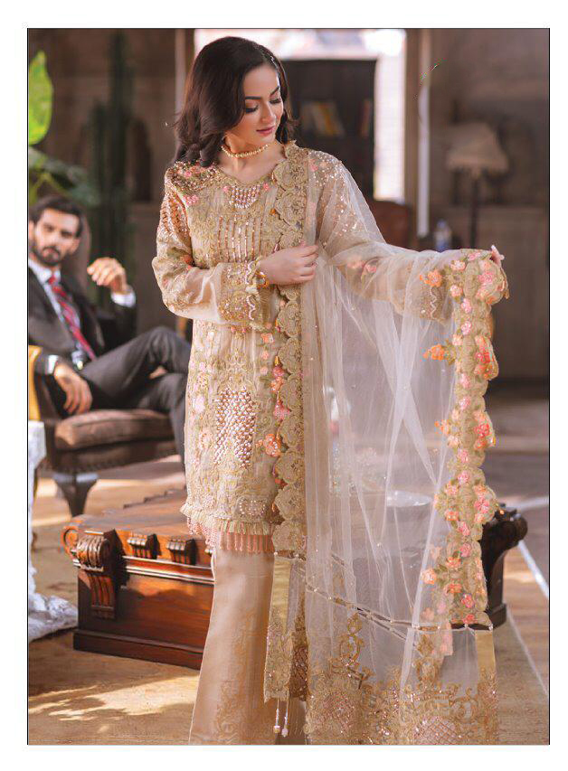Exclusive Georgette Designer Suit