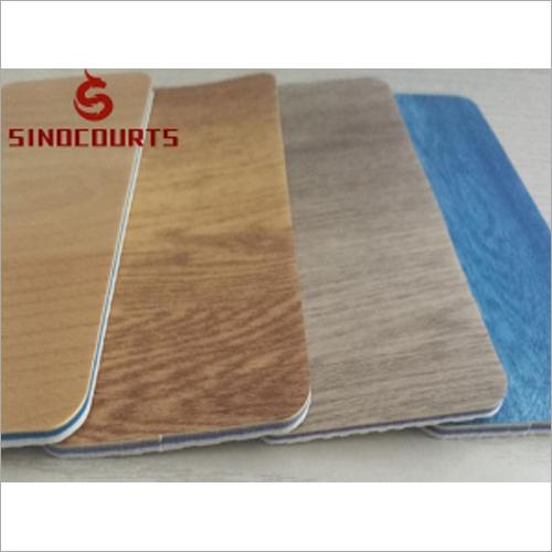 Wooden Texture PVC Sport Flooring