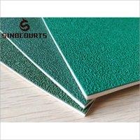 Sand Badminton Court Mat Flooring