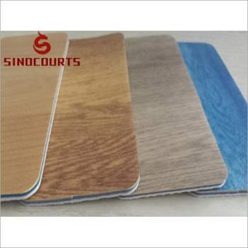 8mm Indoor PVC Wood Sport Flooring