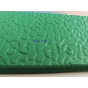 5mm Outdoor Stone Surface PVC Sports Flooring