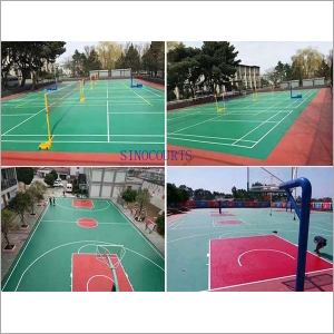 Outdoor Multifunctional Sport Courts