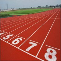 Outdoor Running Track Flooring
