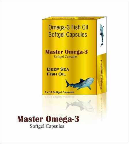 Omega 3 Fatty Acid Soft Gelatin Capsules