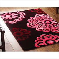Colored Floral  Print Mat