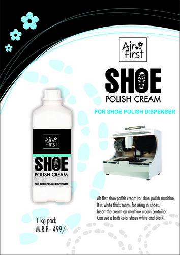 Airfirst shoe polish cream