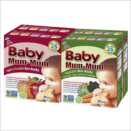 Baby Mum Mum Rice Rusks
