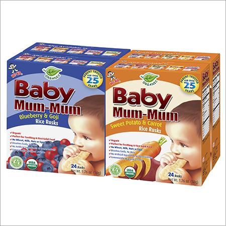 Organic Baby Mum Mum Rice Rusks