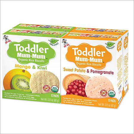 Organic Toddler Mum Mum Rice Biscuits