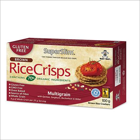 Superslim Brown Rice Crisps