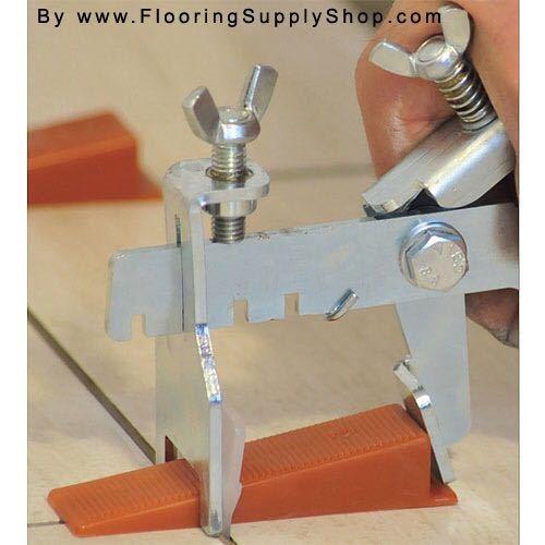 Tile leveling plier