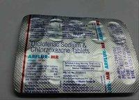 diclofenac sodium chlorzoxazone tablets