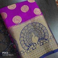 Traditional Art Silk Weaving Saree