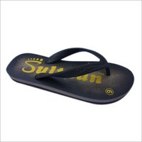 Mens Printed Rubber Flip Flop Slipper