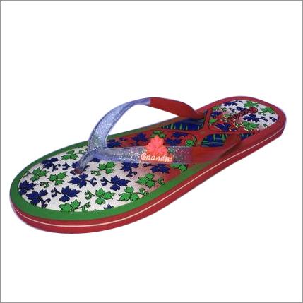 Ladies Rubber Flip Flop Slipper