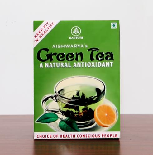 Natural Green Tea Leaf