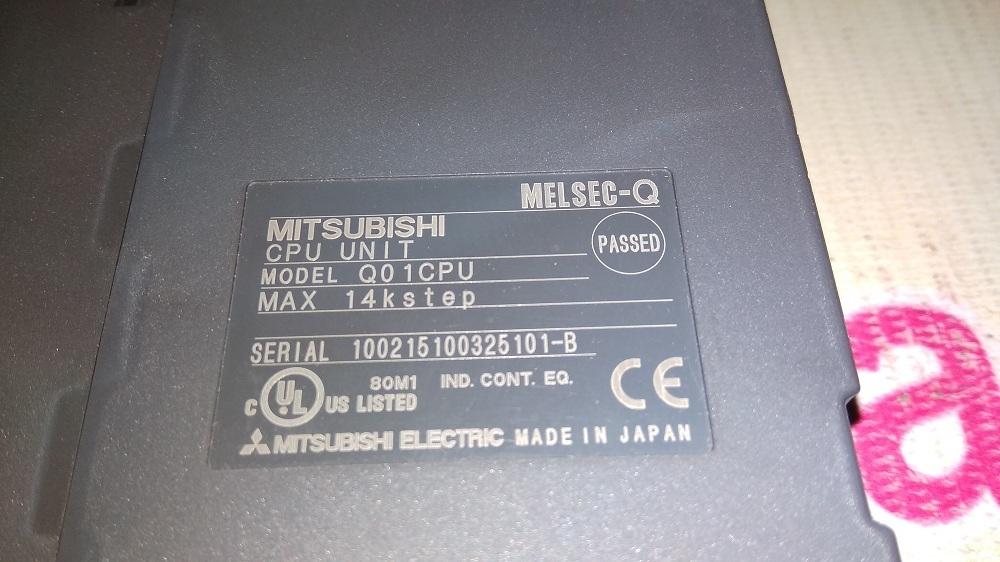 MITSUBISHI CPU MODULE