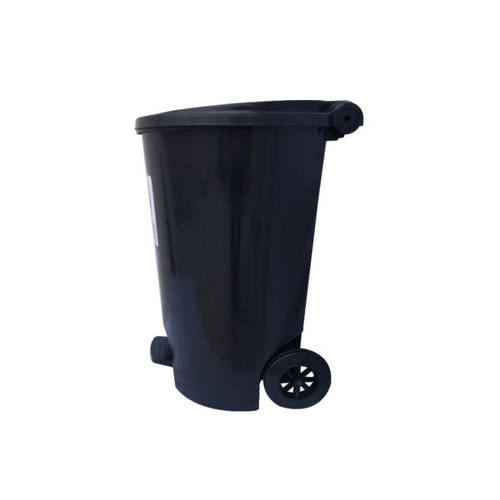 Plastic Pedal Dustbin With Wheel 55 Ltr.