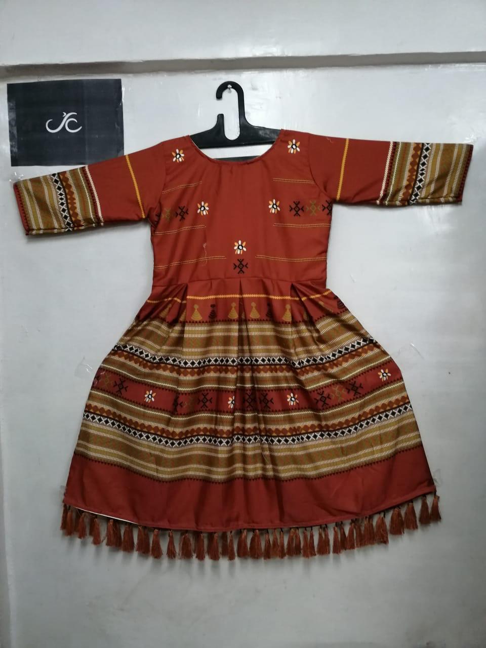 Semi Woolen Kurti