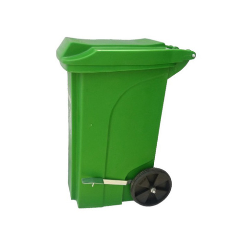 Plastic Pedal Dustbin With Wheel 90 Ltr.