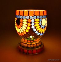 Home Decor Candle Holders Lantern Glass Candle