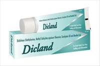 Didofenac Diethylamine, Methyl Salicylate, Capsicum Oleoresin, Eucalyptus Oil and Menthol Gel