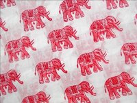 5 YARD HAND BLOCK PRINT 100% COTTON FABRIC DESIGN